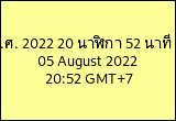Date and Time in Thailand